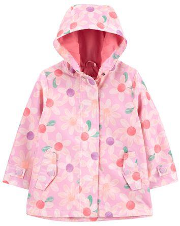 Daisy Print Rain Jacket