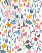 2-Piece Floral Top & Knit Denim Legging Set, , hi-res
