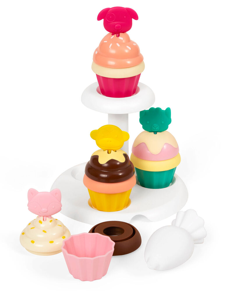 Zoo Sort & Stack Cupcakes, , hi-res