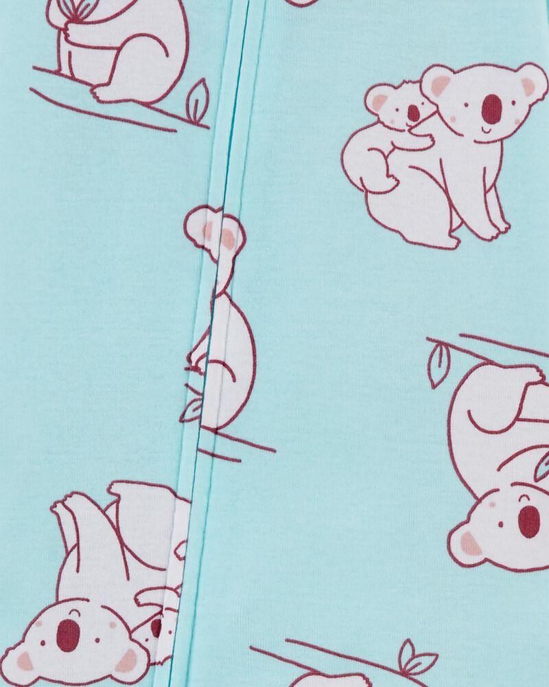 1-Piece Koala 100% Snug Fit Cotton Footie PJs, , hi-res