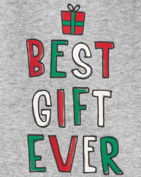 Best Gift Ever Christmas Collectible Bodysuit