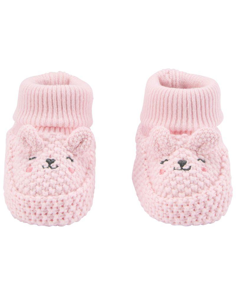 Chaussons pour bébé à oursons, , hi-res