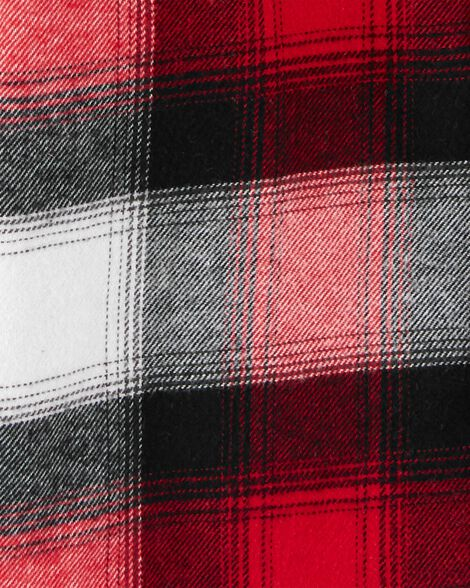 Hooded Flannel Shirt