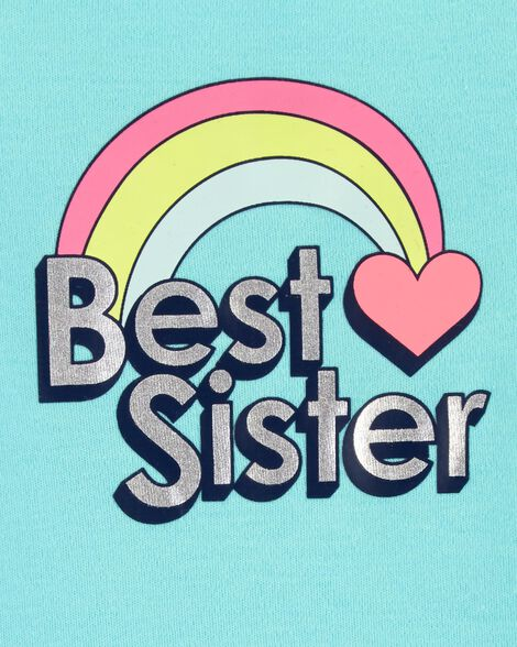Best Sister Rainbow Collectible Bodysuit