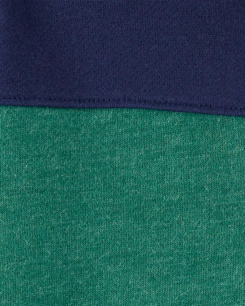 Kangourou en molleton de couleurs contrastantes , , hi-res