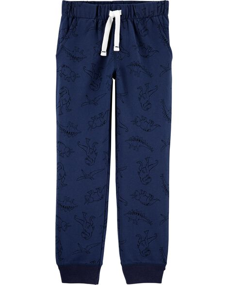 Dinosaur Pull-On French Terry Joggers