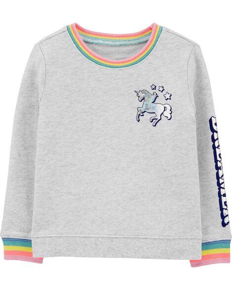 Rainbow Unicorn Sweatshirt