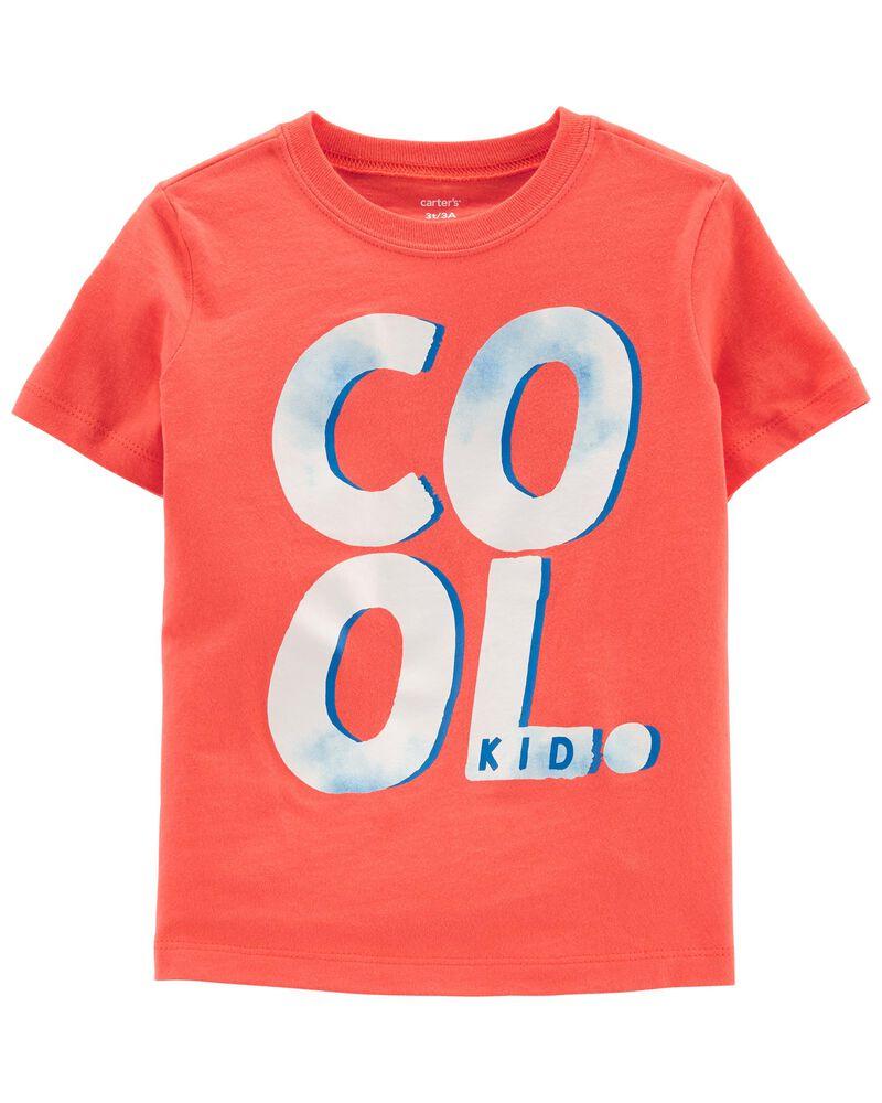 T-shirt en jersey cool, , hi-res