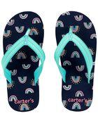 Rainbow Flip Flops, , hi-res