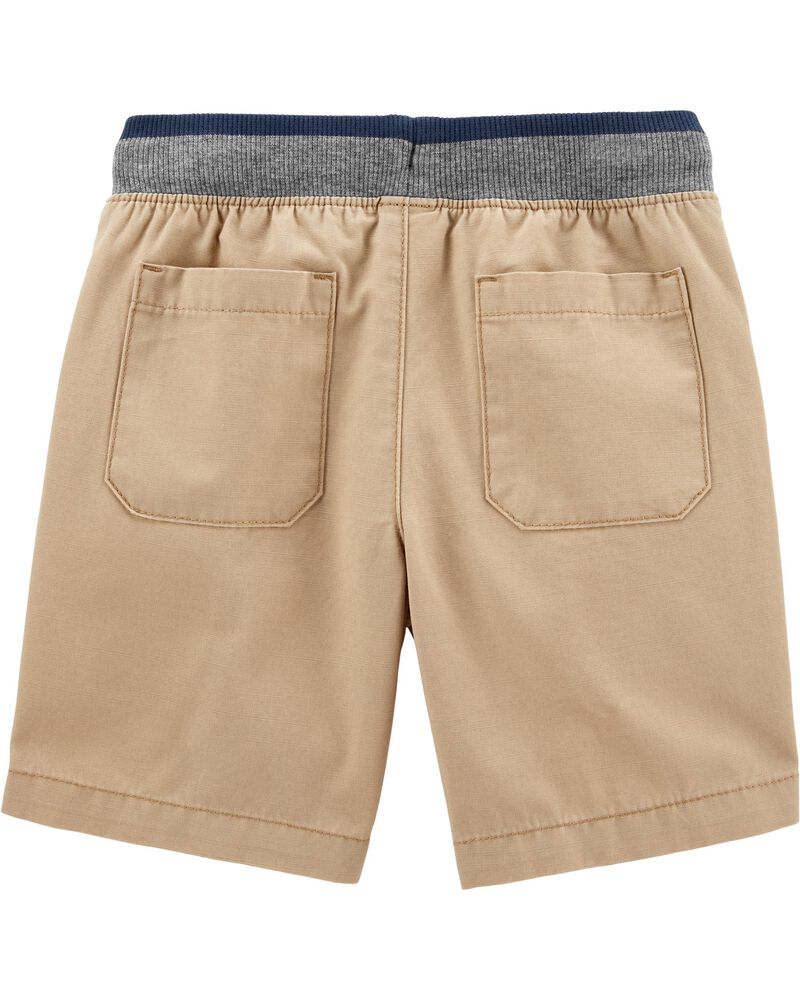 Short à enfiler de style nautique, , hi-res
