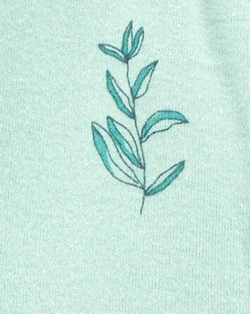 Certified Organic Cotton Snap-Up Sl...