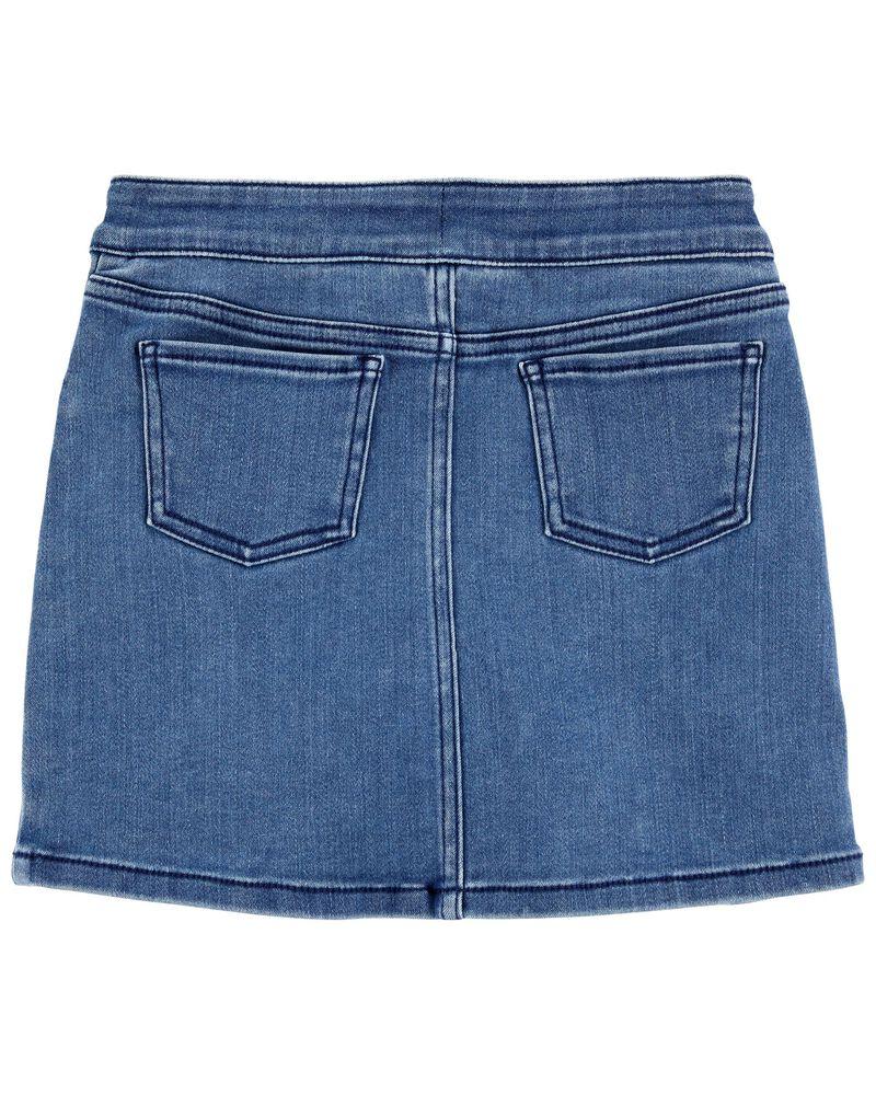 Valentine's Day Heart Denim Skirt, , hi-res