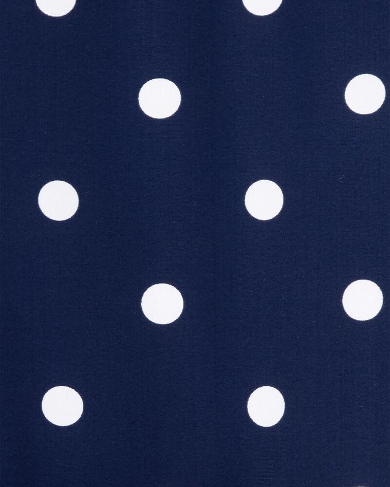 Polka Dot Peplum Rashguard Set, , hi-res