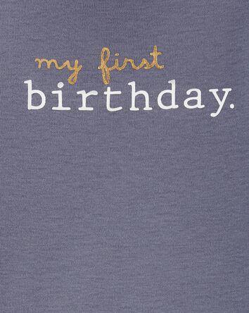 My First Birthday Original Bodysuit