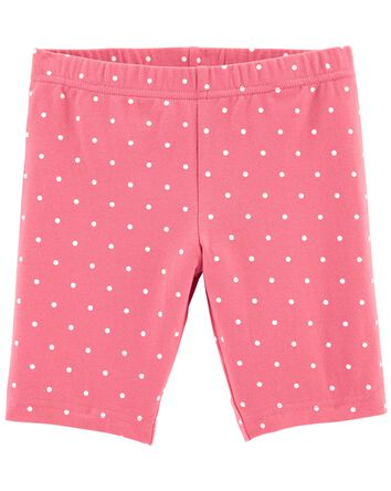 Polka Dot Bike Shorts
