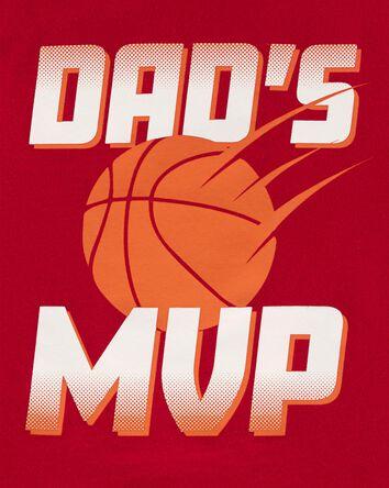 T-shirt en jersey Dad's MVP