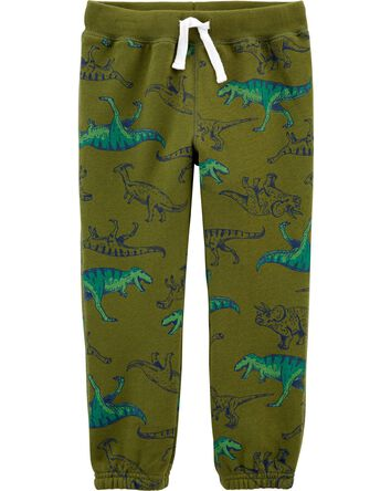 Dinosaur Pull-On Fleece Pants