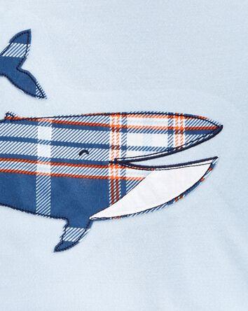 3-Piece Whale Loose Fit PJs