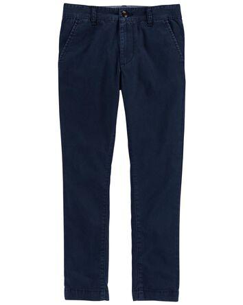 Pantalon en coutil extensible de co...