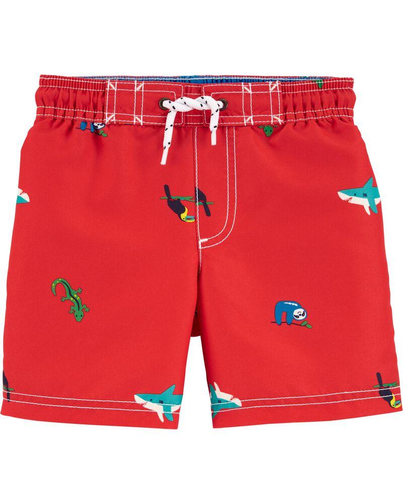 Sea Turtle Swim Trunks, , hi-res