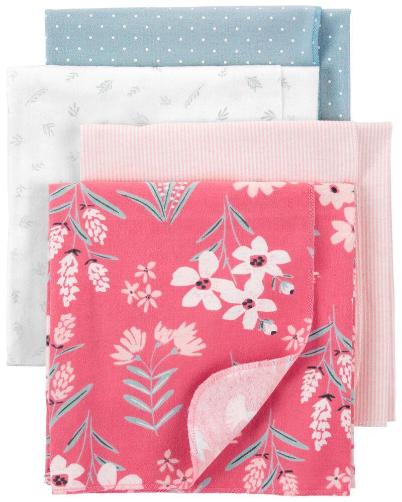 4-Pack Receiving Blankets, , hi-res