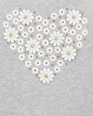 Daisy Heart Top