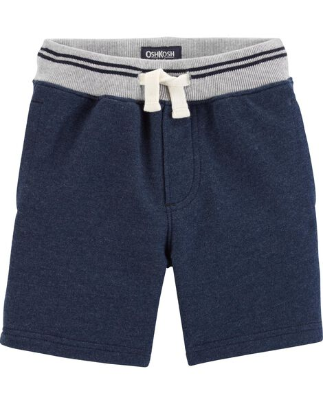 Ribbed French Terry Shorts
