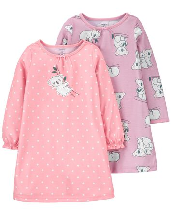 2-Pack Nightgowns