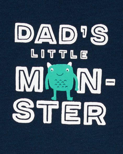 3-Piece Monster Little Short Set