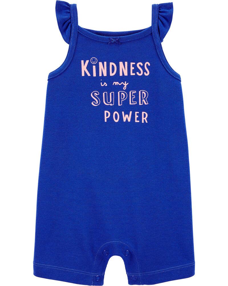 Kindness Cotton Romper, , hi-res