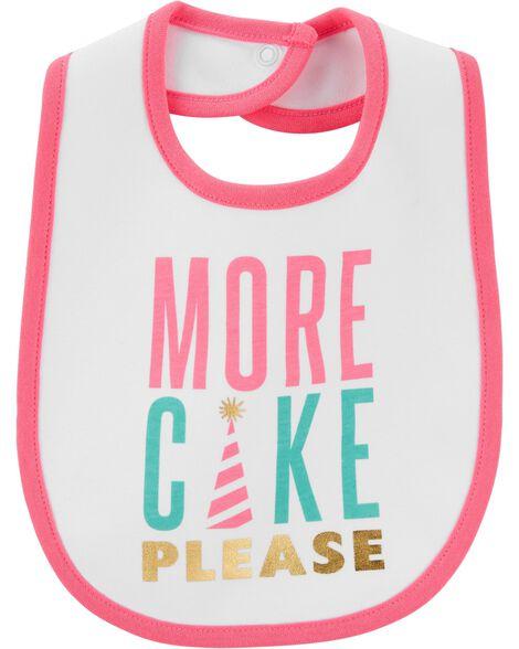 Bavoir de dentition More Cake Please