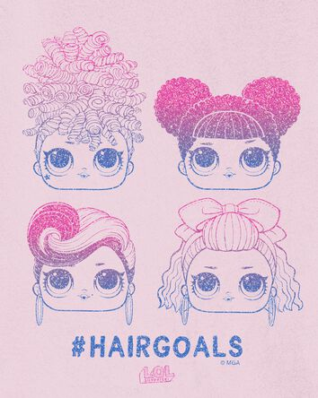 T-shirt poupées LOL Hair Goals