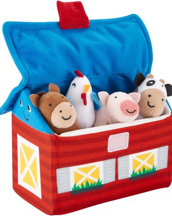 Plush Barn Activity Set