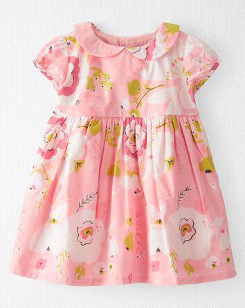 Organic Cotton Poplin Dress