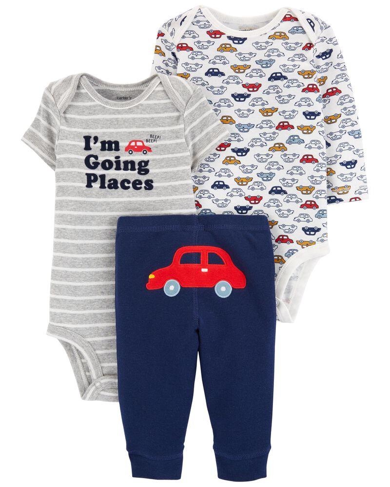 3-Piece Bodysuit Pant Set, , hi-res