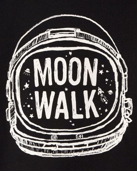 Pyjama 2 pièces qui brille dans le noir astronaute