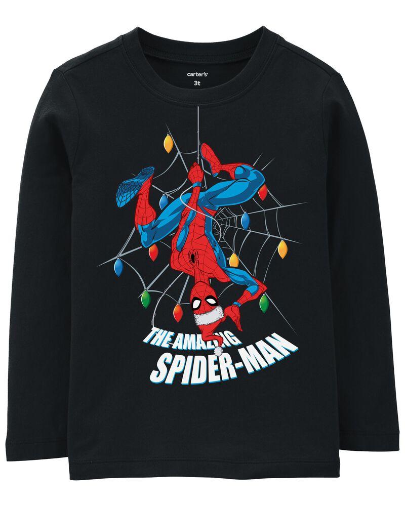 T-shirt des Fêtes Spider-Man, , hi-res