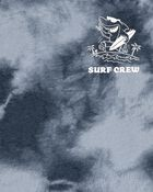 Tie-Dye Shark Muscle Tank, , hi-res