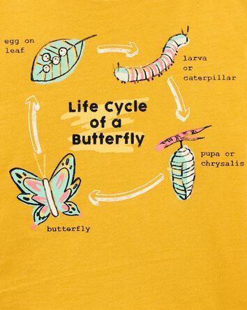 Metamorphosis Butterfly Jersey Tee