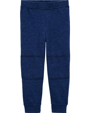 Pull-On Slub Jersey Pants