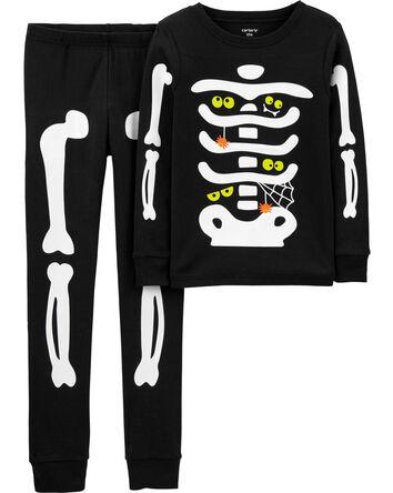 2-Piece Glow Halloween 100% Snug Fi...