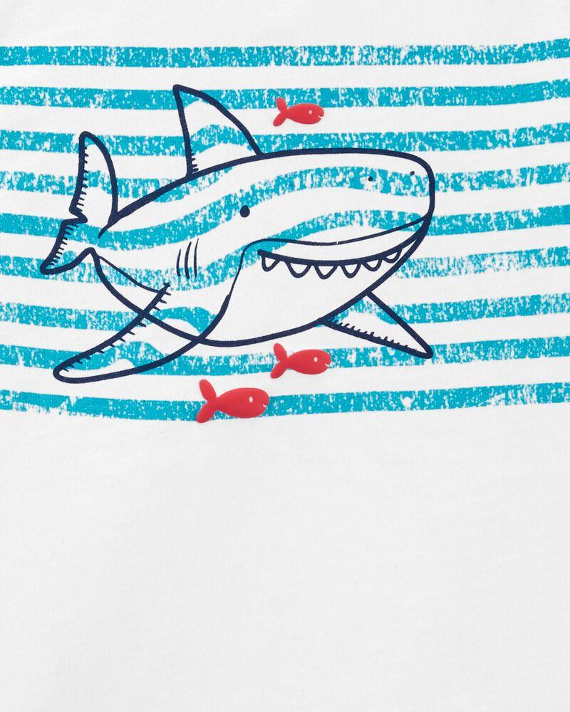 2-Piece Shark Henley & Short Set, , hi-res
