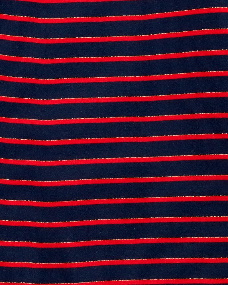 Sparkle Striped Turtleneck, , hi-res