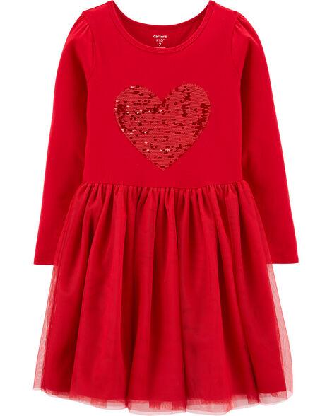 Flip Sequin Jersey Tutu Dress