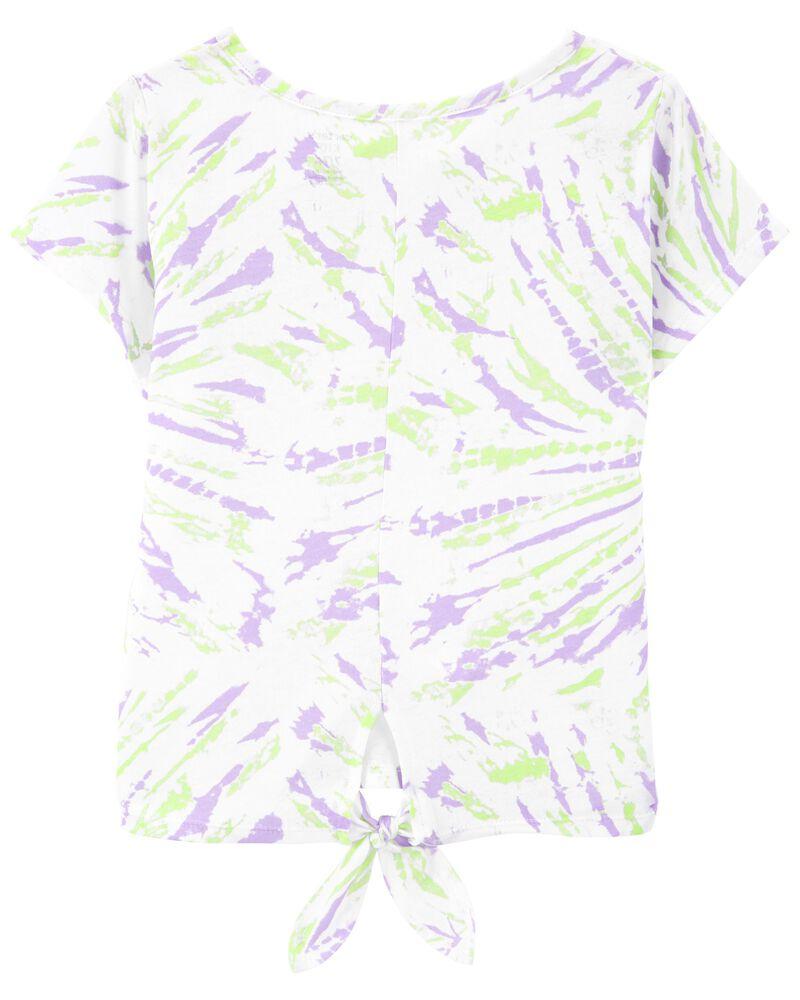 Tween Tie-Dye Top, , hi-res