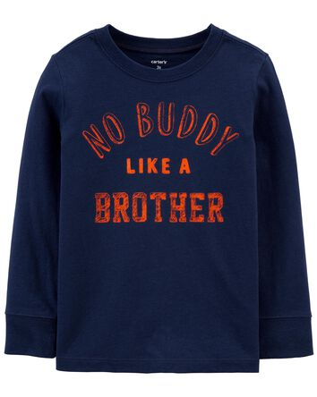 No Buddy Like A Brother Jersey Tee