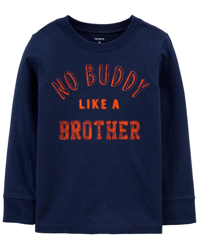 T-shirt en jersey No Buddy Like A Brother , , hi-res