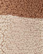 Combinaison à capuchon et glissière en molleton, , hi-res
