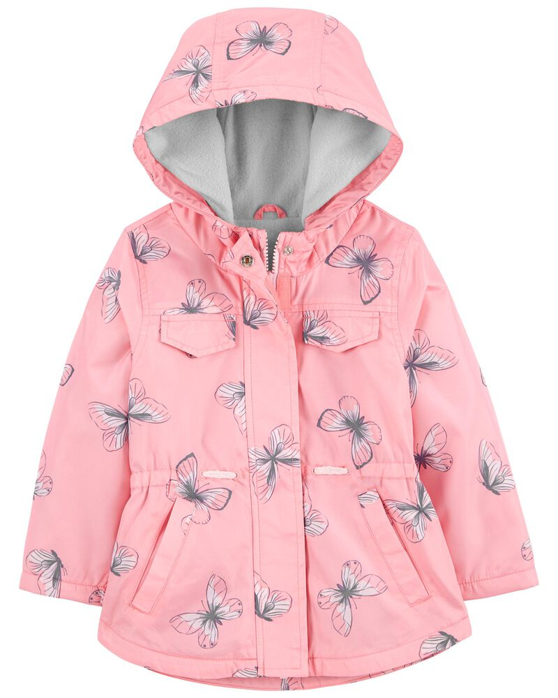 Butterfly Fleece-Lined Anorak Jacket, , hi-res