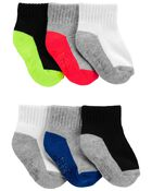 6-Pack Active Socks, , hi-res